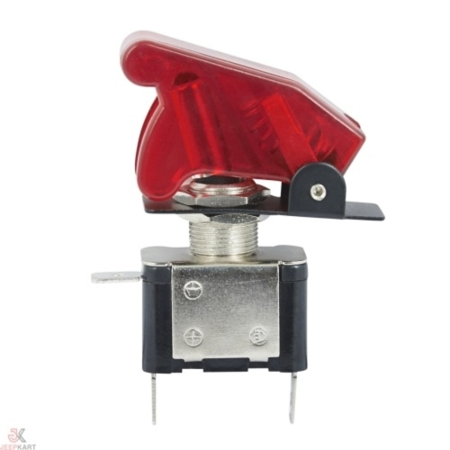 LED Toggle/Aircraft Switch Red