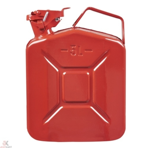 Fuelmate 5L Red Metal Jerry Can