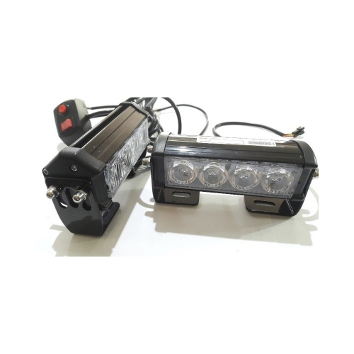 Federal Signal Light Strobe 4 Led Lightbar