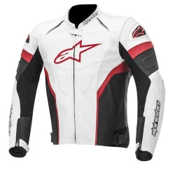 Buy Alpinestars Gp Plus Perforated Leather Jacket: Black White Red Online