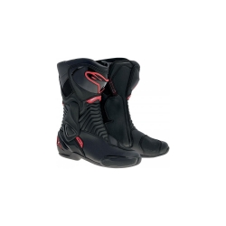 Buy Alpinestars S-Mx 6 Boots: Black Red Online