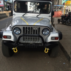 Buy TJM Mahindra Thar Off Road Bumper - Winch Compatible Online