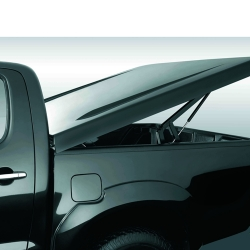 Aeroklas Deck Cover Aviator - Electronic Lifted Up for D/C for Isuzu
