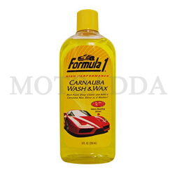 Buy Formula 1 Carnauba Wash & Wax  Shampoo 236ml Online