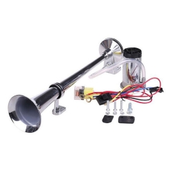 Buy Hella Chrome Pipe Air Horn - Single Tone 12V Online