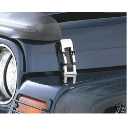 Buy Jeep Wrangler Hood Latch Chrome Mahindra Thar Online