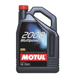 Buy Motul 2000 MULTI POWER 20W50 Motor Oil  500ml Online