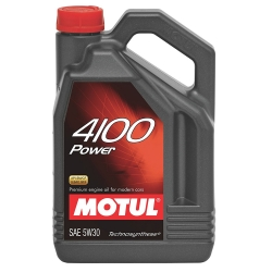 Buy Motul 4100 POWER 5W30 (Technosynthese) Motor Oil  500ml Online