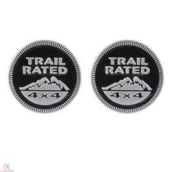 Buy Trail Rated Black Decal Online