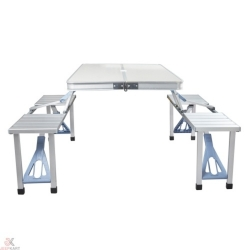 Buy Folding briefcase table and chair Online