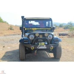 Buy Mahindra Thar 540/550 Front bumper with winch plate Online