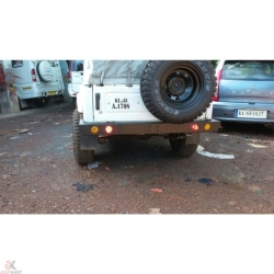 Buy JTI Offroad rear bumper for Maruti Gypsy Online