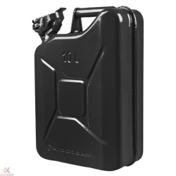 Buy Fuelmate 10L Black Metal Jerry Can Online