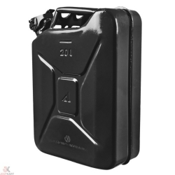 Buy Fuelmate 20L Black Metal Jerry Can Online