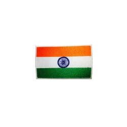Buy QUIPCO India Flag Patch - Embroidered Online
