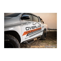 Buy Overland Andez Series Side Step Board - Isuzu D-Max Online