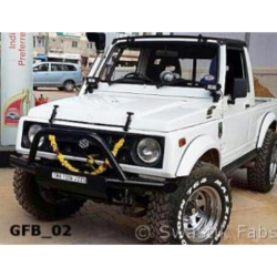 Buy Gypsy bumper with Winch plate P/N-GFB_02 Online