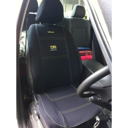 Buy TJM SEAT COVER WITH TJM EMBRIODERED LOGO (PAIR) Online