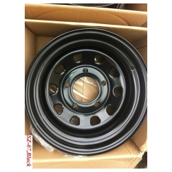 Buy Infinity Maruti Gypsy Steel Wheels - Black Online