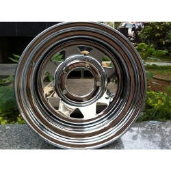 Buy Infinity Maruti Gypsy Steel Wheels - Chrome Online