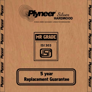 Plyneer Silver B.W.R. Hardwood Water Resistant Block Board - 10 Years Replacement Guarantee*