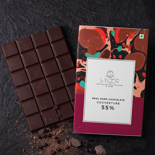 Buy Real Dark Chocolate Couverture  200g Online