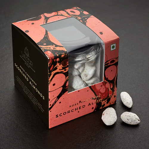 Buy Rose + Cardamom Scorched Almonds Online