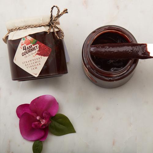 Buy Strawberry & Balsamic Vinegar Jam  Online