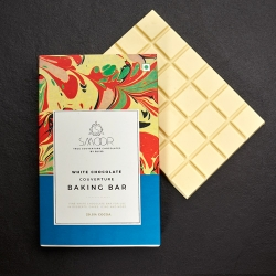 Buy White Chocolate Couverture Baking Bar Online