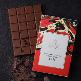 Buy Real Milk Chocolate Couverture  200g Online