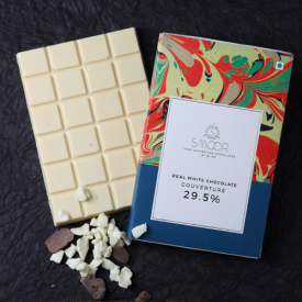Buy Real White Chocolate Couverture Online