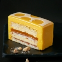 Coconut, Mango and Cashew Delice